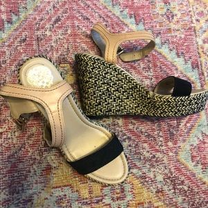 Vince Camuto wedges, barely worn